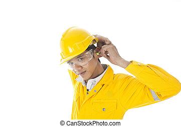 oor, slijtage, bescherming