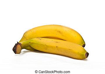 op, vrijstaand, aanzicht, afsluiten, banaan