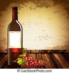 op, wijntje, spotten