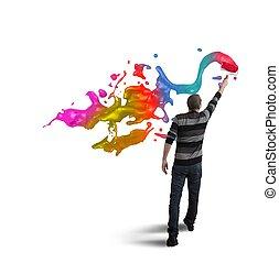 open, creativiteit, zakelijk