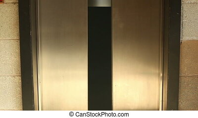 openingsdeur, sluiting, lift