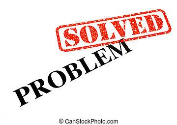 opgeloste, probleem