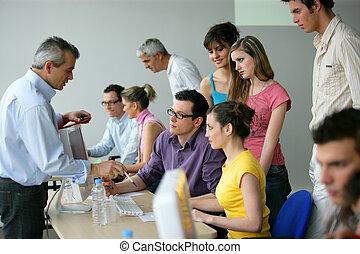 opleiding, opleiding, businesspeople