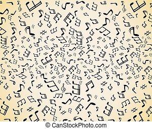 opmerkingen, muziek, seamless