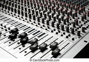 opname uitrustingsstuk, audio
