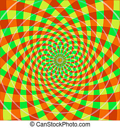 optische illusie, cyclic
