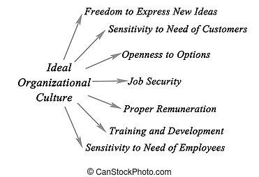 organisatorisch, cultuur, ideaal