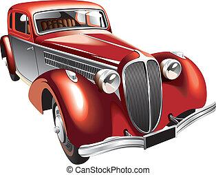 ouderwetse , luxueus, auto