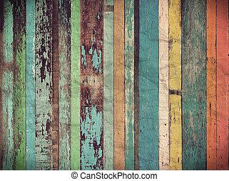 ouderwetse , materiaal, behang, hout, achtergrond