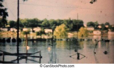 overstroomde, 1948, buurt