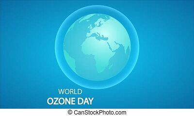 ozon, internationaal, bewaring, aarden dag aan, laag, planeet