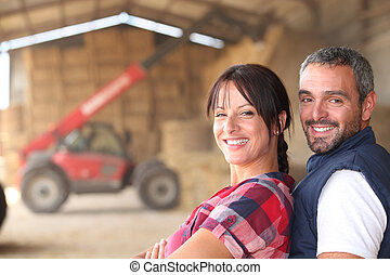 paar, farmer