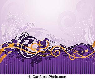 paarse , model, strepen, horizontaal