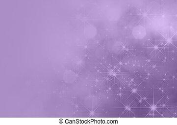 paarse , sering, ster, vervagen, achtergrond