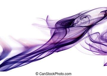 paarse , witte , rook, achtergrond