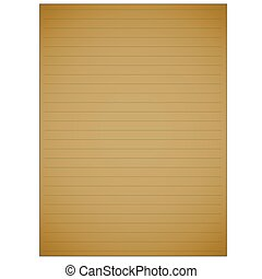 page., eenvoudig, geel comment, vector, blok