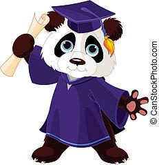 panda, afgestudeerdeen