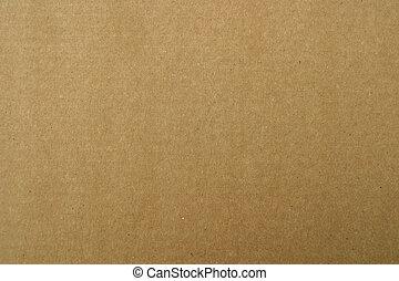 papier karton, bruine