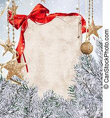 papier, kerstmis