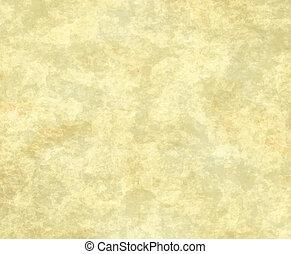 papier, oud, of, perkament