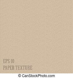 papier, vector, oud, illustratie, textured