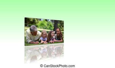 park, gezin, video's