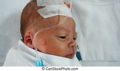 pasgeboren zuigelingen, druppelteller, preterm, onder
