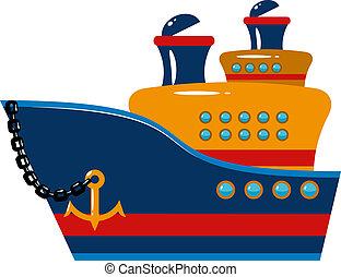 passagier schip, cruise