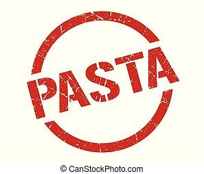 pasta, postzegel