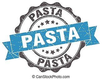 pasta, teken., stamp., zeehondje