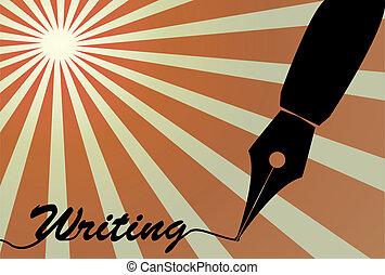 pen, fontijn, nib