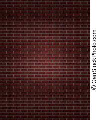 perfect, muur, baksteen
