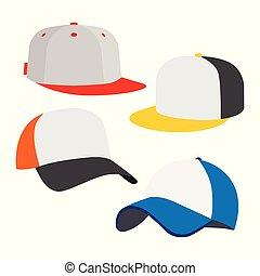 pet, set, honkbal, pictogram