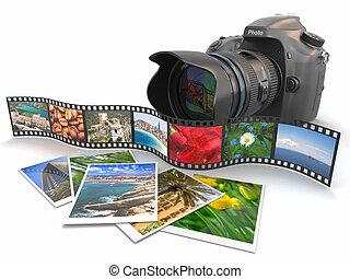 photography., film, photos., fototoestel, slr