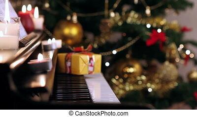 piano, kerstkado