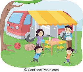 picknick, gezin