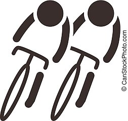 pictogram, cycling