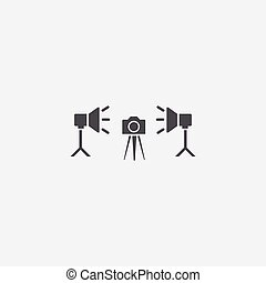 pictogram, foto studio