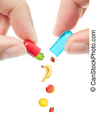 pil, vitamine
