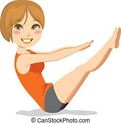 pilates, oefening