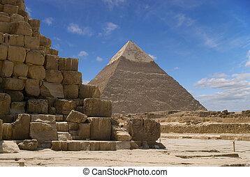 piramide, chefren