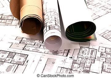 plan, architectuur