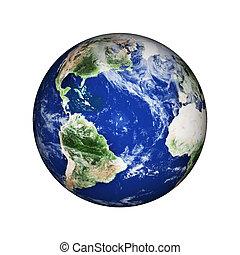planeet land, ruimte