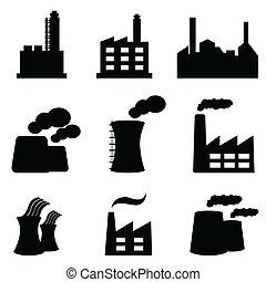 planten, fabrieken, macht