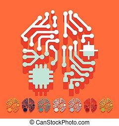 plat, design:, kunstmatige intelligentie