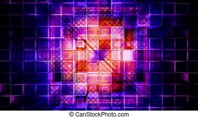plein, vj, cg, looping, achtergrond, geometrisch, geanimeerd, abstract