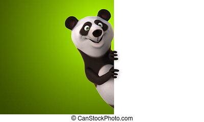 plezier, panda