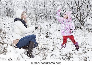 plezier, winter