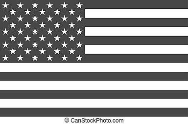 politiek, amerikaan, nationale, officieel, vlag