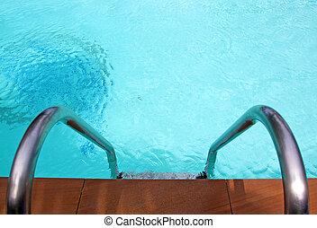 pool, tree, zwemmen